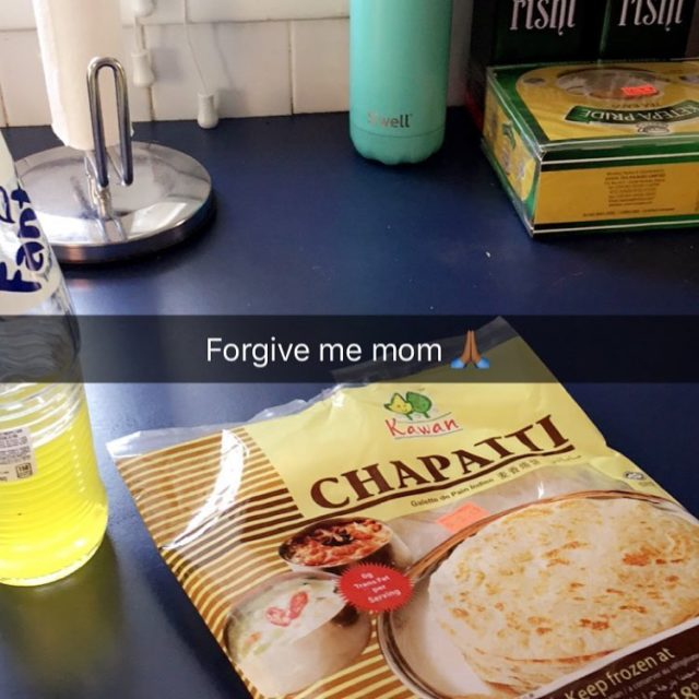 Found these frozen chapatis at the Indian Market forgivememom frozenchapatishellip