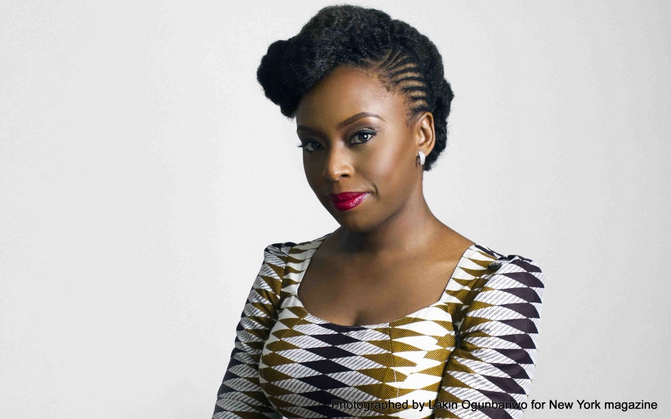 Chimamanda Ngozi Adichie selected as one of TIME magazine's 2015 100 Most Influential People in the World.